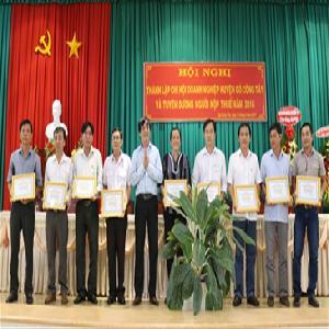 Thành lập Chi hội Doanh nghiệp huyện Gò Công Tây