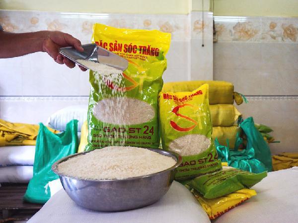 Gạo ST24 của Việt Nam lọt top 3 gạo ngon nhất thế giới năm 2017