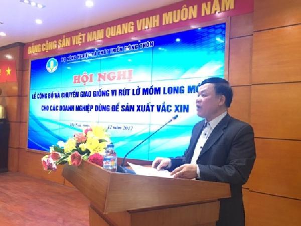 Lần đầu tiên Việt Nam sản xuất được vắc xin lở mồm long móng