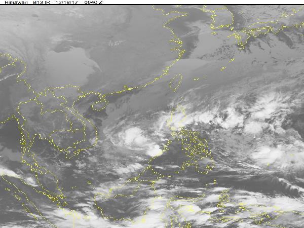 TIn bão gần biển Đông - cơn bão Kai-tak