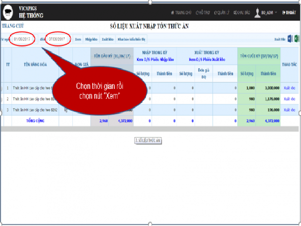 Vicapig.com: Phần mềm quản lý heo giống tiên tiến