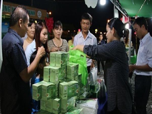 Phiên chợ Nông nghiệp Xanh năm 2018