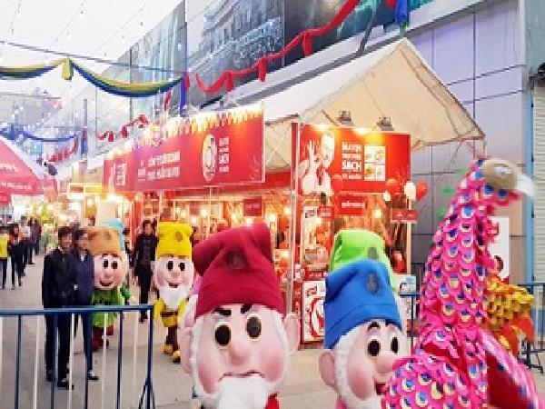Hội chợ xuân Giảng Võ - Nơi hội tụ đặc sản vùng miền