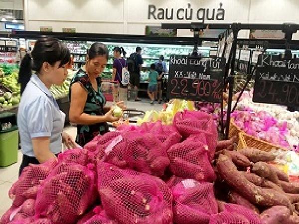 Nông sản Trung Quốc đội lốt hàng Việt