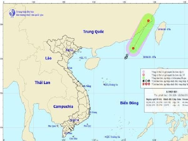 Cảnh báo đầu tuần: Tiếp tục xuất hiện áp thấp nhiệt đới trên Biển Đông, bệnh khảm lá sắn, vàng lùn xoắn lá…