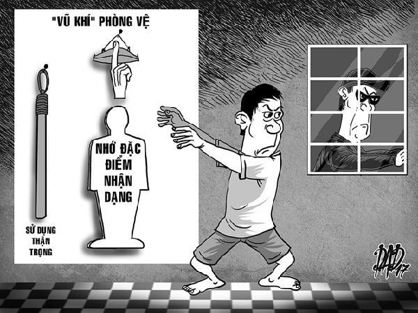 Trộm vào nhà, phòng vệ sao cho hợp pháp?