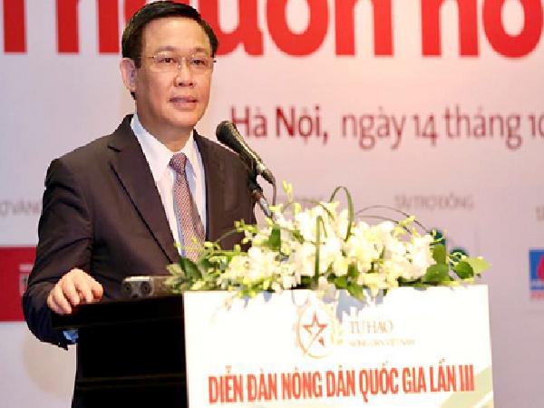 Phó thủ tướng: 'Chính phủ sẵn sàng đồng hành, đi chợ cùng nông dân'