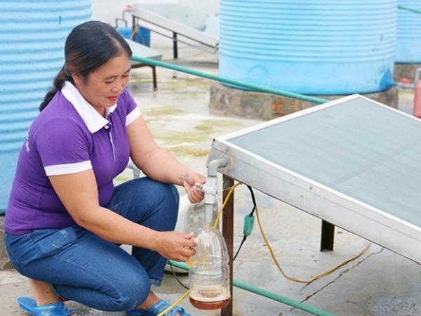 Công nghệ năng lượng mặt trời sản xuất nước mắm thu tiền tỷ