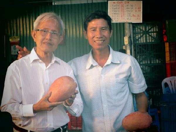 Giống xoài mới giúp gười dân Cù Lao Giêng làm giàu