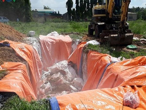 Đồng Nai: Phát hiện 4 tấn thịt nhiễm dịch tả lợn châu Phi chờ tiêu thụ