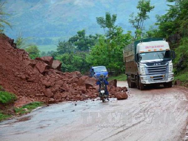 Cảnh báo: Sạt lở đất có nguy cơ xảy ra tại tỉnh Hà Giang