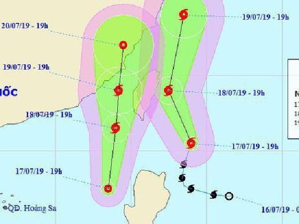 Áp thấp nhiệt đới mới hình thành trên biển Đông có khả năng mạnh lên thành bão