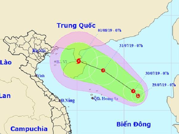 Xuất hiện vùng áp thấp có thể mạnh thành áp thấp nhiệt đới, giật cấp 8