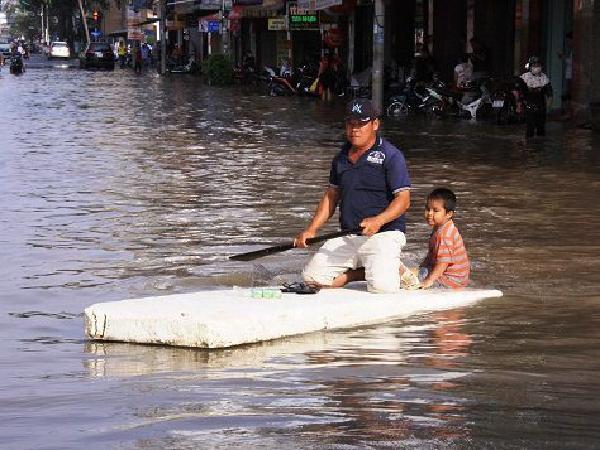 Đến năm 2050, miền Nam Việt Nam có nguy cơ bị nhấn chìm trong biển nước