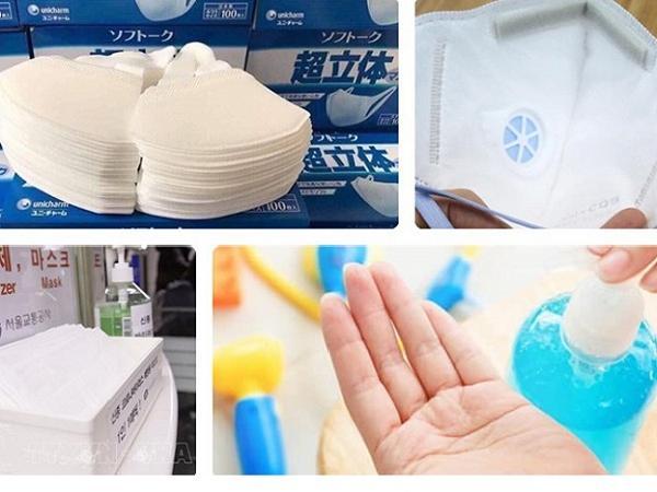 Giữa bão dịch corona, một số cơ sở bán khẩu trang, nước rửa tay giả kiếm lời