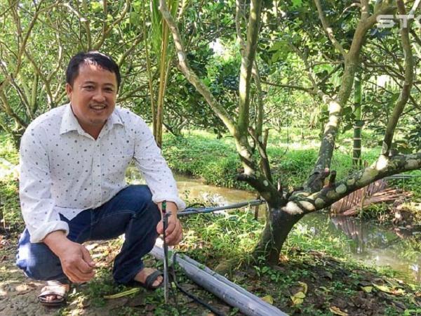 Tiết kiệm nước nhờ hệ thống phun tưới tự động