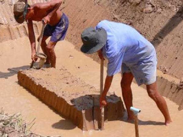 NT-Kỹ thuật đào ao cá: Cách đào ao
