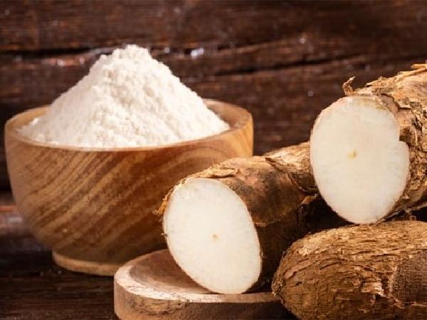 TH-Quy trình chế biến tinh bột sắn từ củ sắn