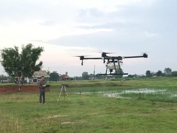 Việt Nam chính thức sản xuất máy bay không người lái dùng trong nông nghiệp