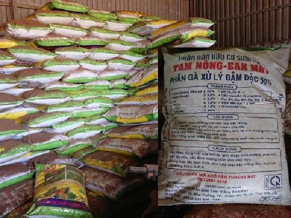 Đắk Lắk: Công ty sản xuất phân bón giả ngang nhiên hoạt động, coi thường pháp luật