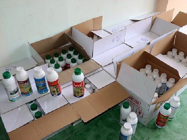 Bắt giữ giám đốc công ty sản xuất trái phép thuốc BVTV nghi là hàng giả