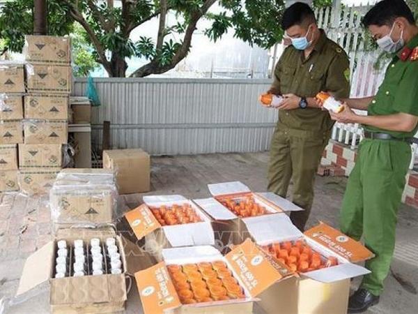 Phát hiện điểm tập kết thuốc bảo vệ thực vật nhập lậu kém chất lượng