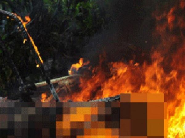 Vợ chồng chủ cơ sở thức ăn thủy sản chết cháy bất thường trong chòi giữ vuông tôm