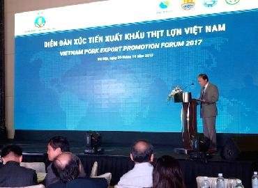 Nhiều nước đang có nhu cầu nhập thịt lợn Việt Nam